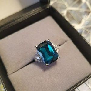 Topaz Gemstone Sterling Silver Ring